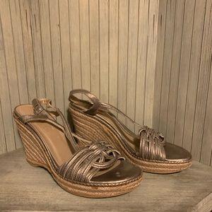 Flawless Stuart Weizmann Tan Leather Heels